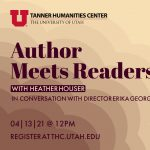 Author Meets Readers with Heather Houser