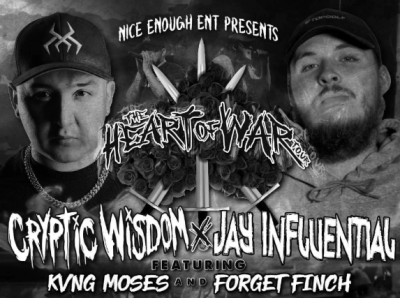 """Cryptic Wisdom """"The Heart of War Tour"""""""