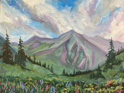 Purple Peaks - 21+
