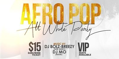 AfroPop All White Party