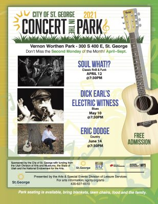 St. George Concert in the Park Series 2021