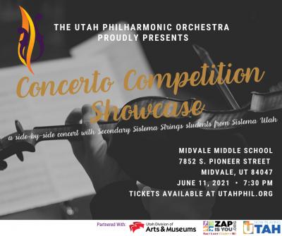 Utah Philharmonic Orchestra Concerto Competition Showcase 2021