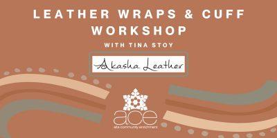 Leather Wraps & Cuffs Workshop