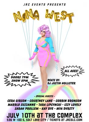 Nina West Performing Live at The Complex