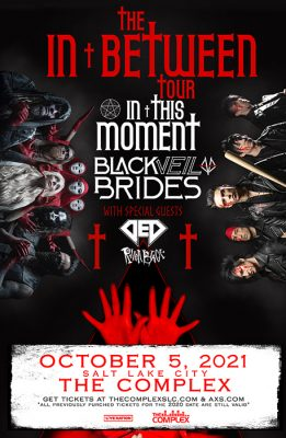 **NEW DATE** In This Moment & Black Veil Brides @ The Complex