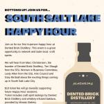 South Salt Lake Happy Hour w/Dented Brick Distillery