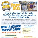 Host a School Supply Drive for the Stuff the Bus Event