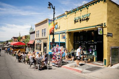 Shop, Dine and Stroll on Car Free Main Street