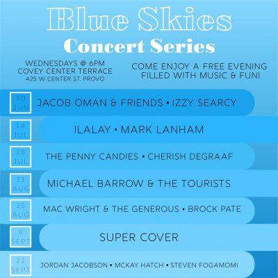 Blue Skies Concert Series
