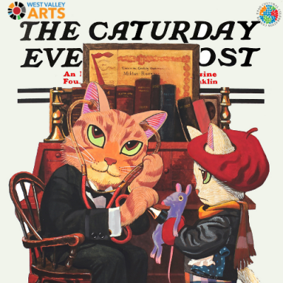 Caturday Evening Post Covers, 1912-1940