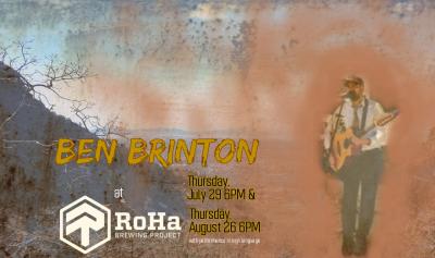 Ben Brinton live at RoHa