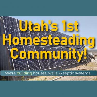 ►► Tour Utah's Only Organic Farming Town ◄◄