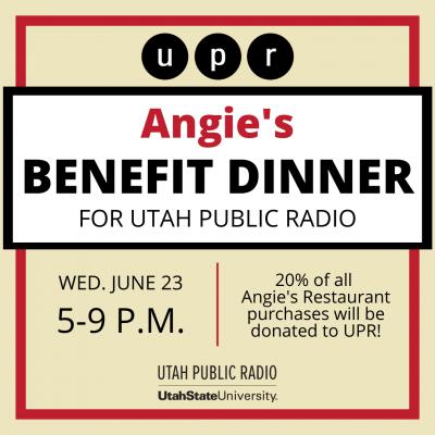 Utah Public Radio Benefit Dinner at Angie's Restau...