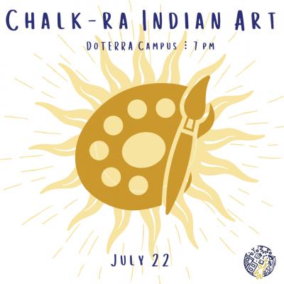 Chalk-ra Indian Art
