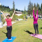 Free Weekly Outdoor Yoga at Solitude Mountain Resort
