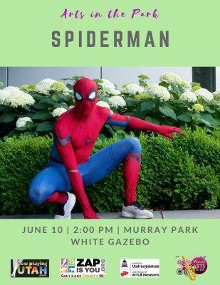 Utah Valley Spider-man Character