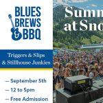 Blues, Brews & BBQ Featuring Stillhouse Junkies- CANCELLED