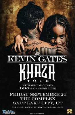 Kevin Gates at The Complex