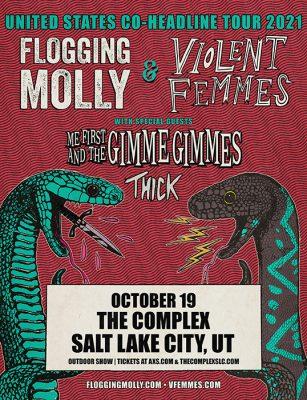 Flogging Molly & Violent Femmes at The Complex...