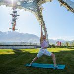 Yoga on the Plaza