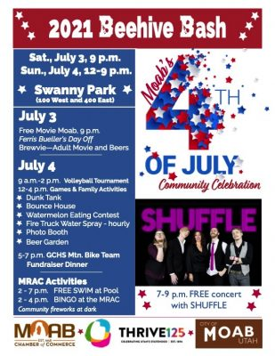 4th of July Beehive Bash in Moab