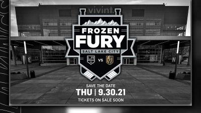 Frozen Fury: LA Kings vs Vegas Golden Knights