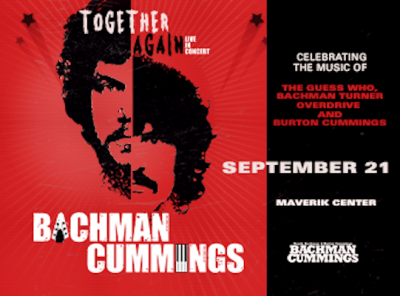 Bachman Cummings - Together Again- CANCELLED