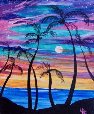 Tahitian Sunset - 21+