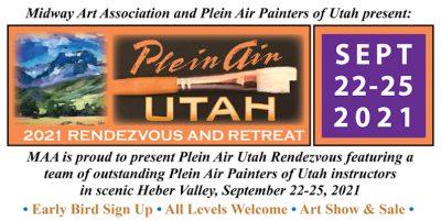 2021 Plein Air Utah Rendezvous & Retreat