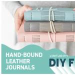 Hand-bound Leather Journal Workshop
