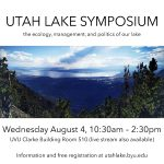 Utah Lake Symposium