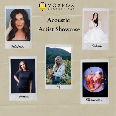 VoxFox Productions Acoustic Artist Showcase