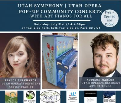 Art Piano Pop-Up Community Concert with Utah Opera...