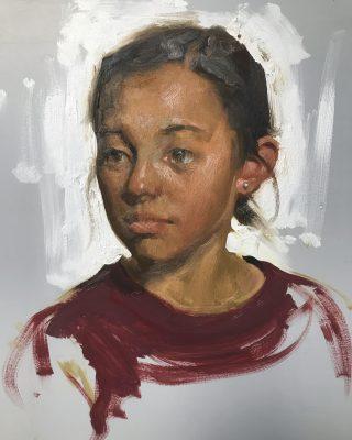 Painting the Alla Prima Portrait with Albin Veselk...
