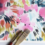 Expressive Florals in Watercolor with Kara Aina