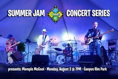The Summer Jam Concert Series presents Memphis McC...