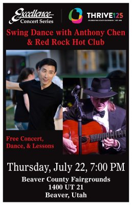 Swing Dance with Anthony Chen & Red Rock Hot Club