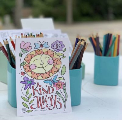 National Coloring Day Party + Live Music