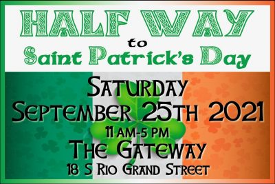 Halfway to St. Patrick's