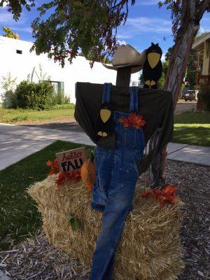 Parowan Scarecrows on Main