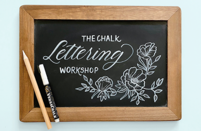 Craft Lake City Workshop: Chalk Lettering with Betsy Goodman