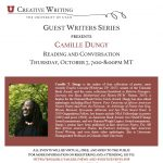 Guest Writers Series with Camille Dungy