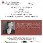 Guest Writers Series with Jenny Erpenbeck