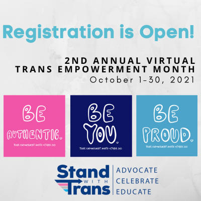 Trans Empowerment Month 2021