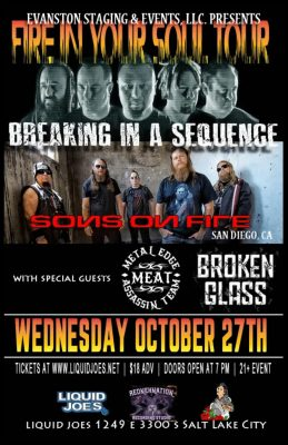 Fire In Your Soul Tour-Breaking In A Sequence/Sons...