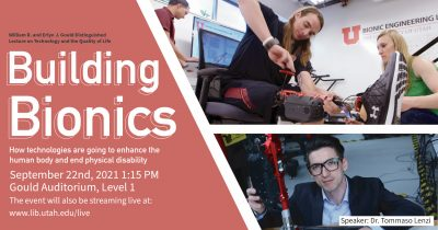 Building Bionics: How technologies are going to en...