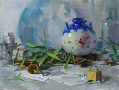 Still Life Painting with Qiang Huang