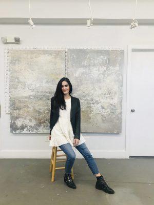 Paint BIG. Paint FEARLESS. with Samantha daSilva