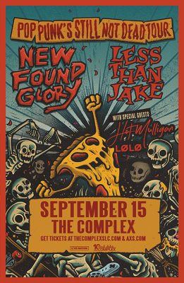 New Found Glory + Less Than Jake at The Complex