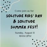 Solitude Kids Day